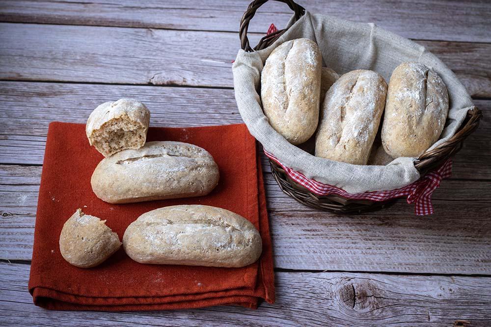 Petits pains d'épeautre