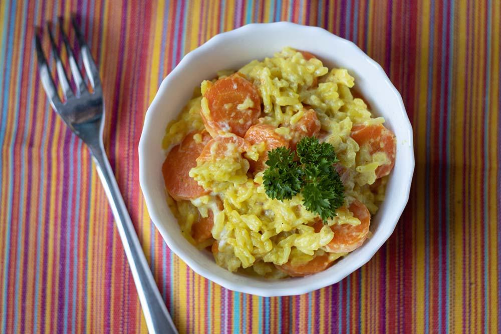 Riz aux carottes et aux épices (au Cookeo ou sans) 1