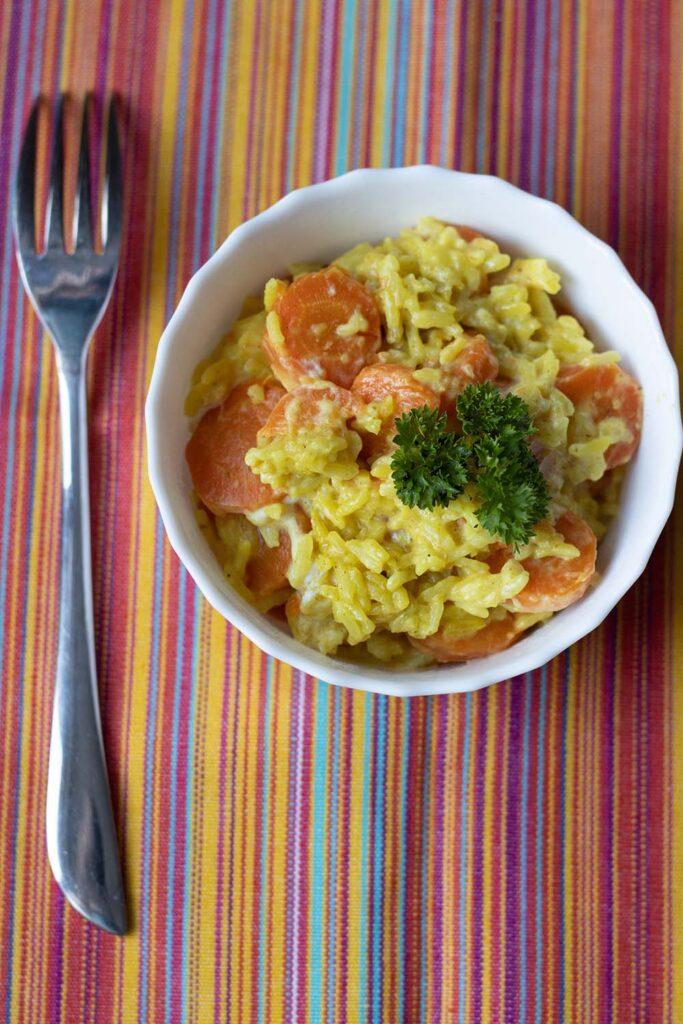 Riz aux carottes et aux épices (au Cookeo ou sans) 2