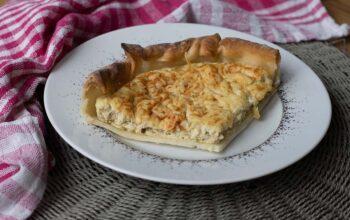 Tarte au thon et au fromage blanc