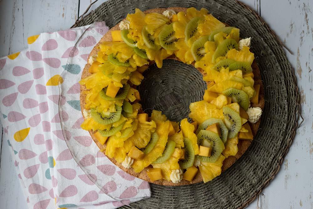 Tarte couronne aux fruits de saison