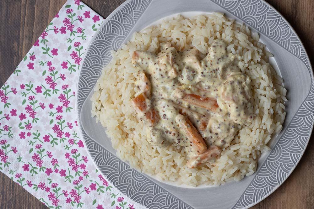 Blanquette de saumon (recette de Cyril Lignac) 1