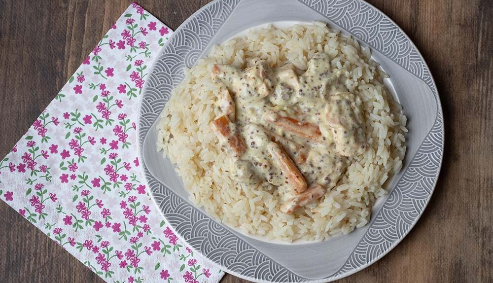 Blanquette de saumon (recette de Cyril Lignac)