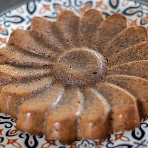 Fondant au chocolat sans œuf (recette de Cyril Lignac) moule marguerite Demarle Flexipan
