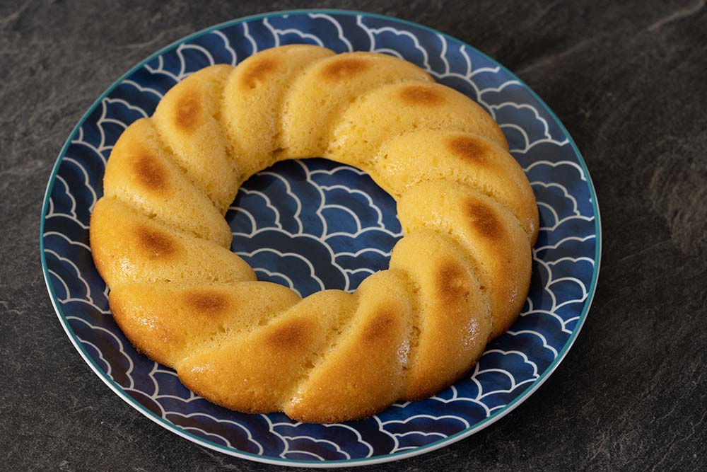 Gâteau au citron (recette de Cyril Lignac)