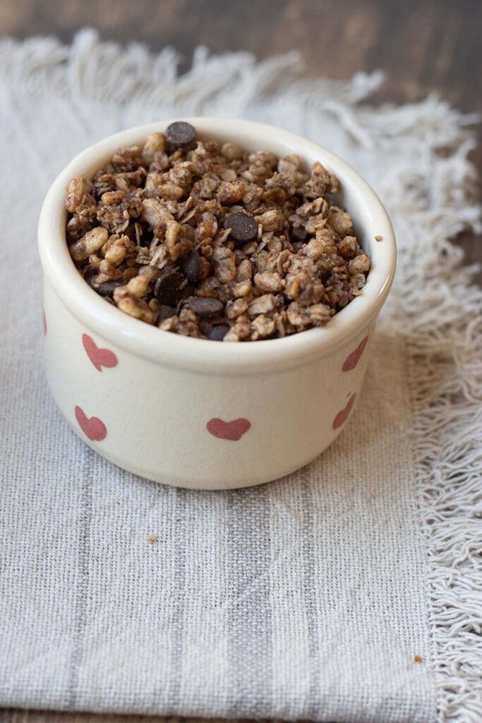 Granola cacao (facile et rapide) 2