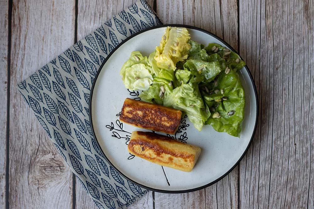 Grumbeerenüdle (Nouilles de pommes de terre alsaciennes)