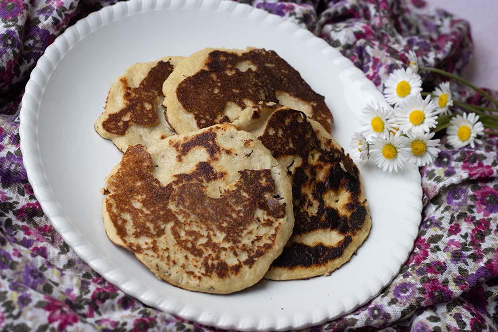 Pancakes Bananes Amandes
