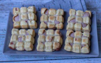 Petites tablettes à la saucisse petites tablettes Demarle Flexipan