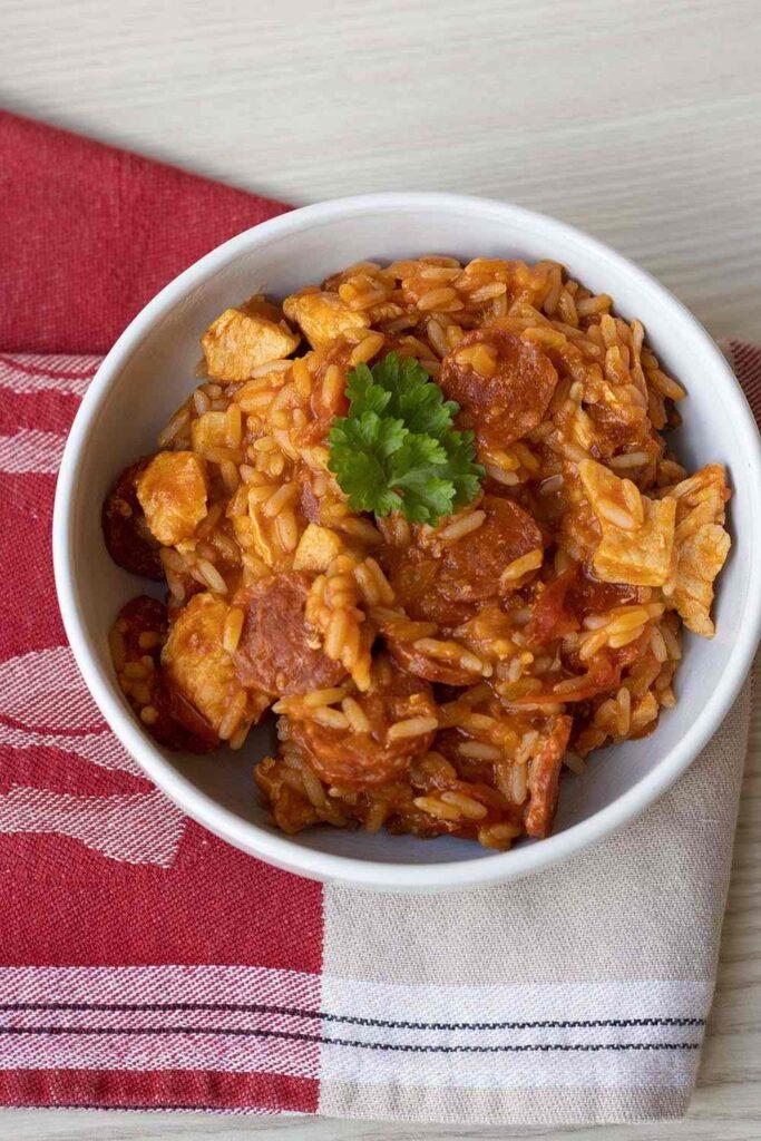 Poulet à l'espagnole (au Cookeo ou sans) 1