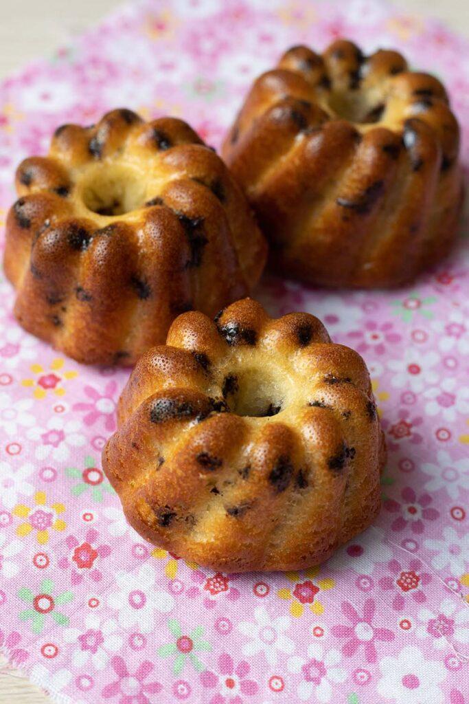 Petits gâteaux Petits Suisses, miel et chocolat Kouglofs Demarle Flexipan 2