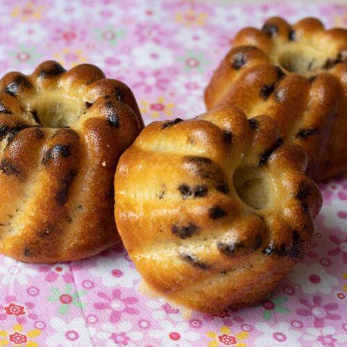 Petits gâteaux Petits Suisses, miel et chocolat Kouglofs Demarle Flexipan