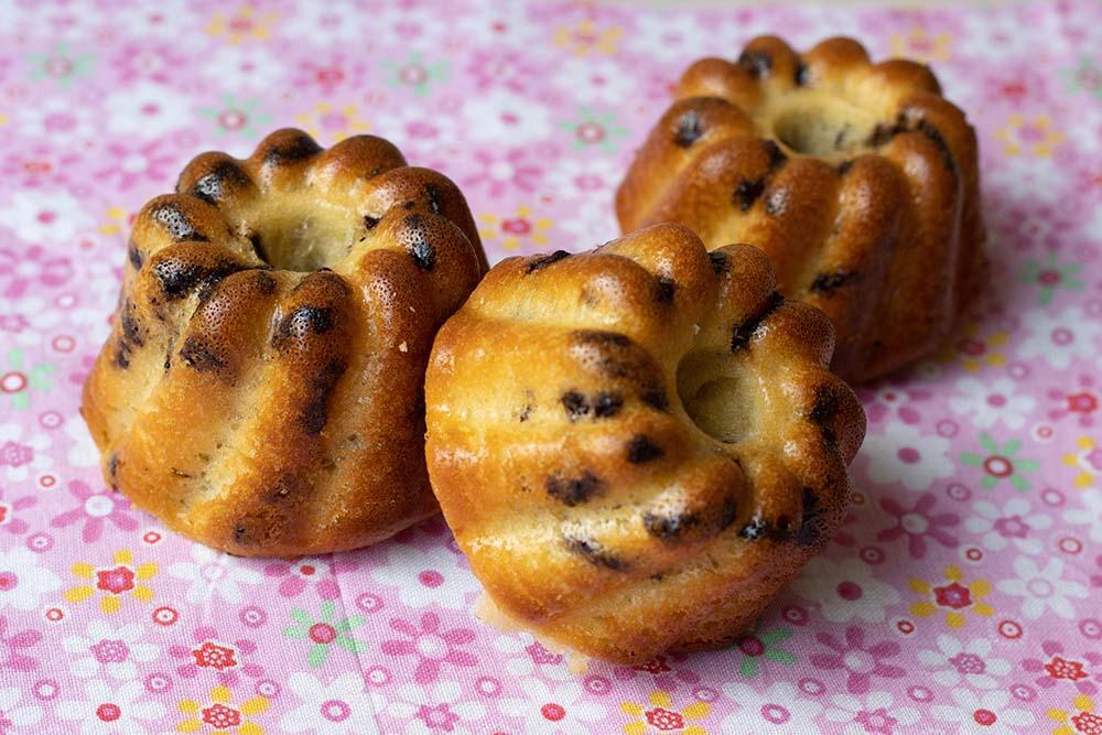 Petits gâteaux Petits Suisses, miel et chocolat