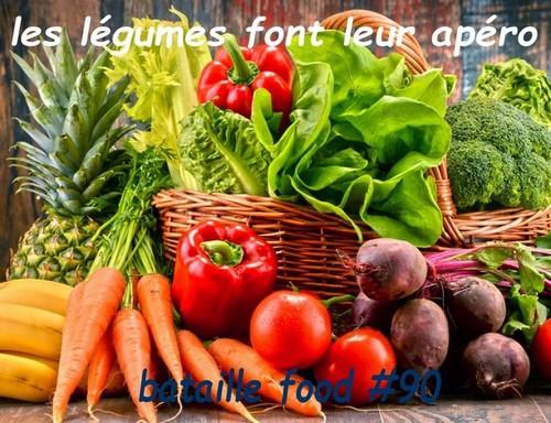 les légumes font leur apéro bataille food 90