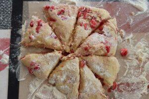 scones aux fraises 5