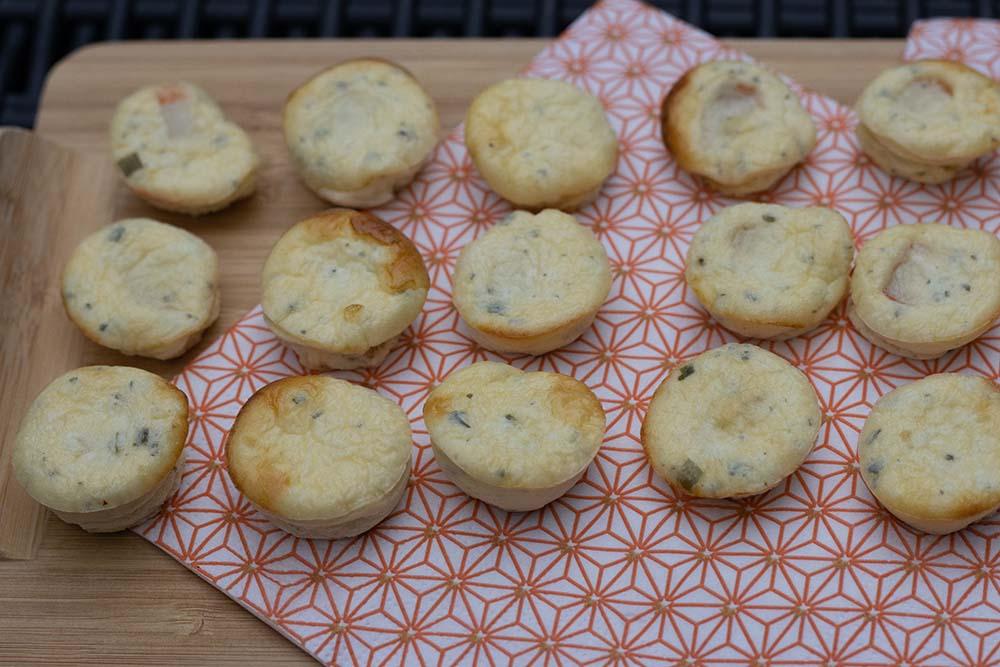 Bouchées au surimi et au fromage ail et fines herbes