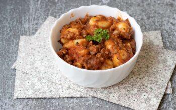Gnocchis à la tomate et à la viande hachée (au Cookeo ou sans)