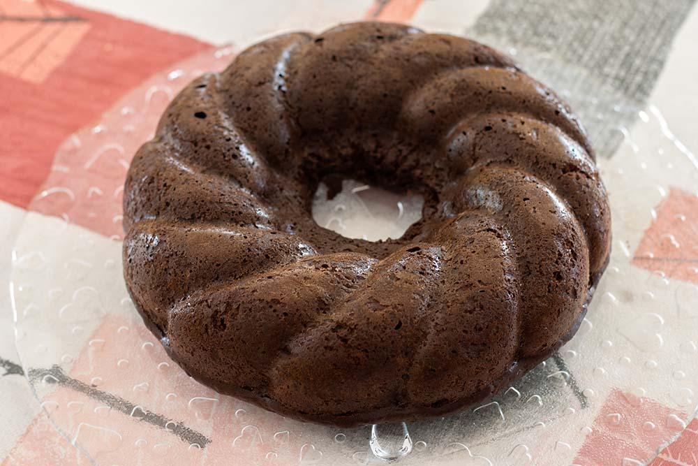 Moelleux chocolat courgettes (sans beurre)