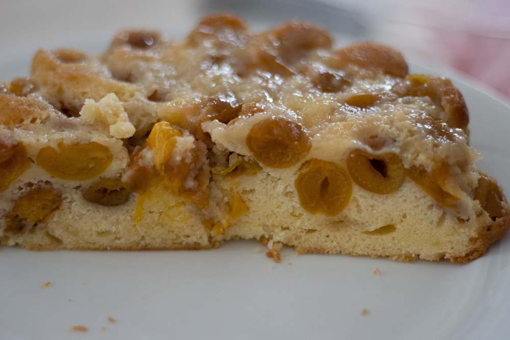 Gâteau renversé aux mirabelles moule marguerite Demarle Flexipan 1 2
