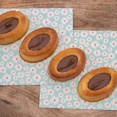 Gâteaux moelleux savarins ovales Demarle Flexipan