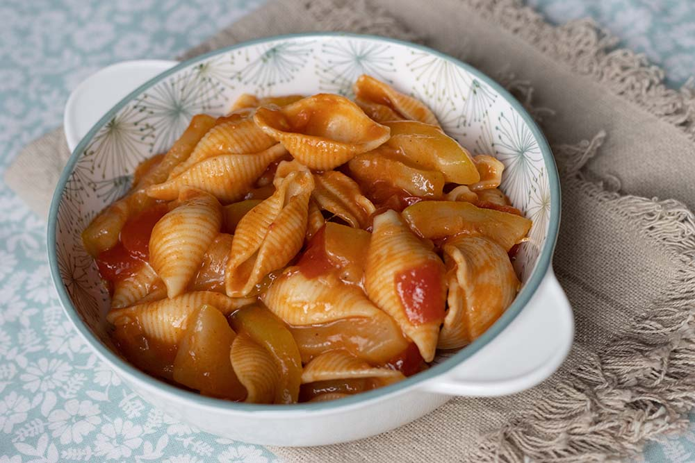 Pâtes aux courgettes et à la sauce tomate (au Cookeo ou sans) 1