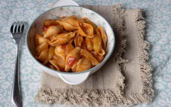 Pâtes aux courgettes et à la sauce tomate (au Cookeo ou sans)