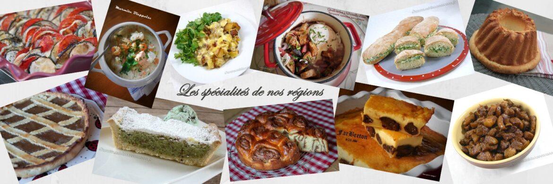 Compile moi un menu : Les spécialités de nos régions