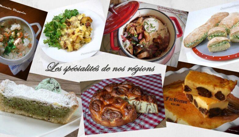 les spécialités de nos régions