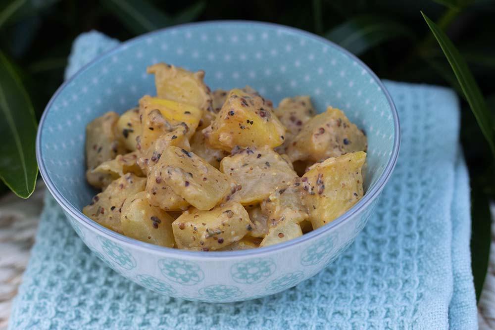 Courgettes à la moutarde 1