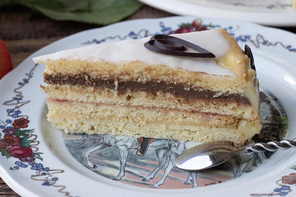 Deckelküeche ou Platteküeche (gâteau à étages alsacien) 4