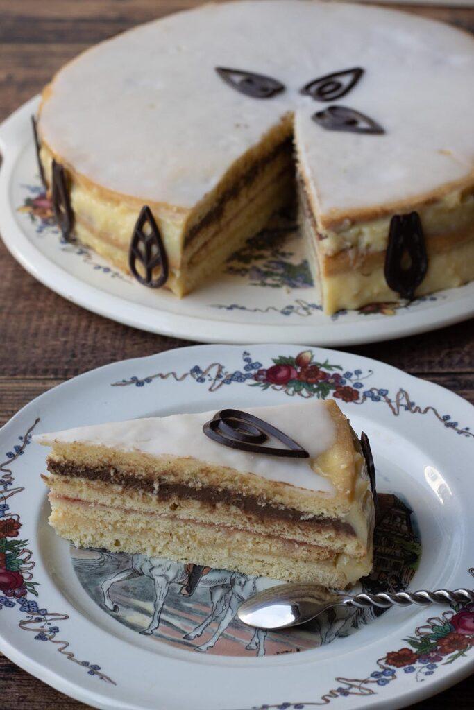 Deckelküeche ou Platteküeche (gâteau à étages alsacien) 5
