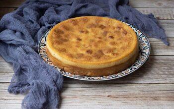 Gâteau aux prunes de Paul Bocuse moule rond Demarle Flexipan