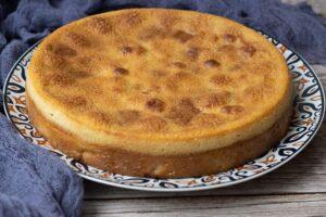 Gâteau aux prunes de Paul Bocuse moule rond Demarle Flexipan 3