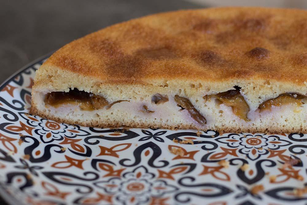 Gâteau aux prunes de Paul Bocuse moule rond Demarle Flexipan 4
