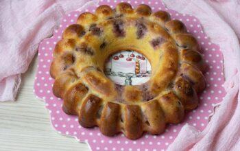 Gâteau lorrain aux quetsches moule savarin cannelé Demarle Flexipan