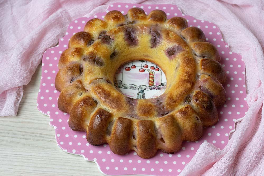 Gâteau lorrain aux quetsches