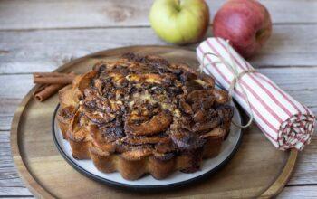 Moelleux pommes cannelle de Cyril Lignac moule marguerite Demarle Flexipan