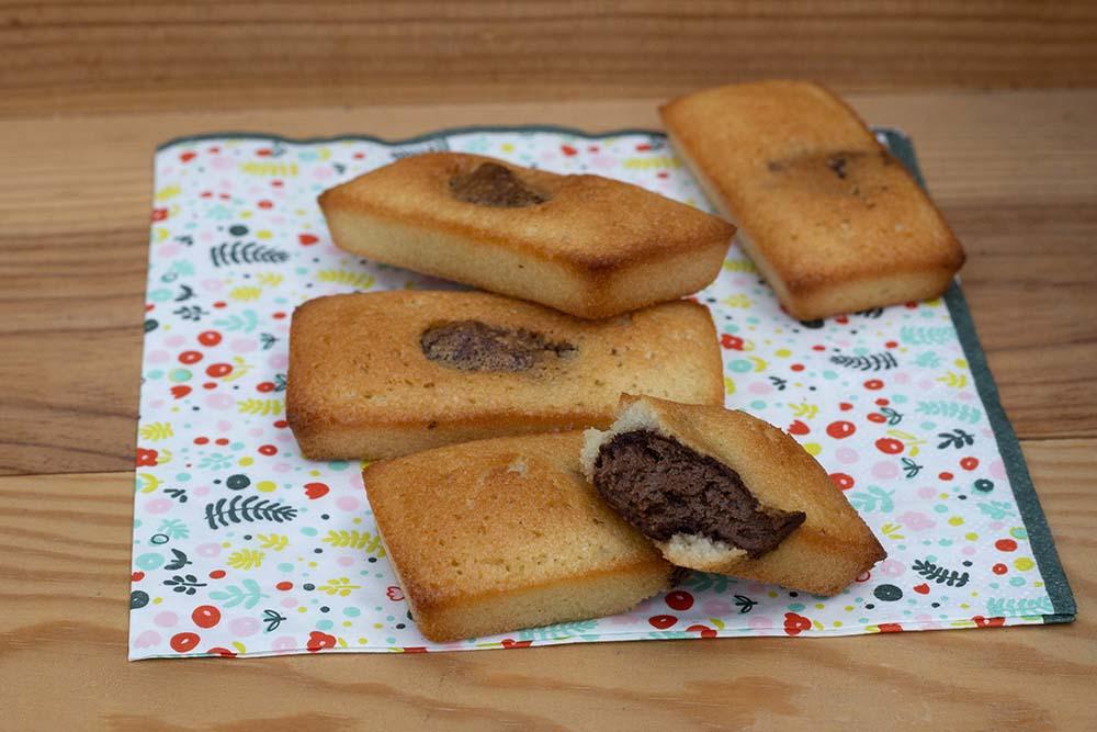 Petits moelleux au Nutella mini cakes Demarle Flexipan 1