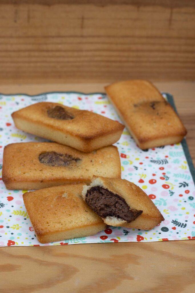 Petits moelleux au Nutella mini cakes Demarle Flexipan 2