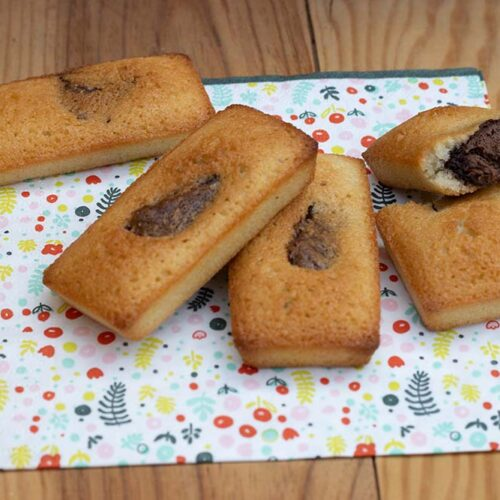 Petits moelleux au Nutella mini cakes Demarle Flexipan