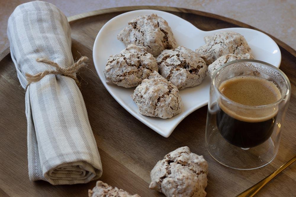 Wespennester petits gâteaux macarons alsaciens recette alsacienne 1