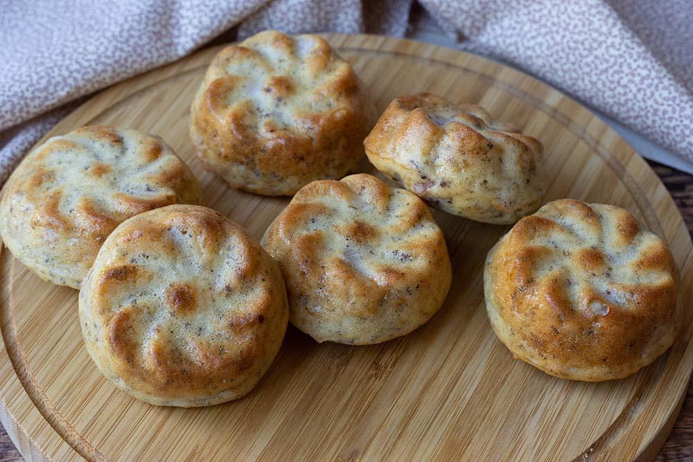 Bouchées à la moutarde et au jambon blanc (sans gluten)