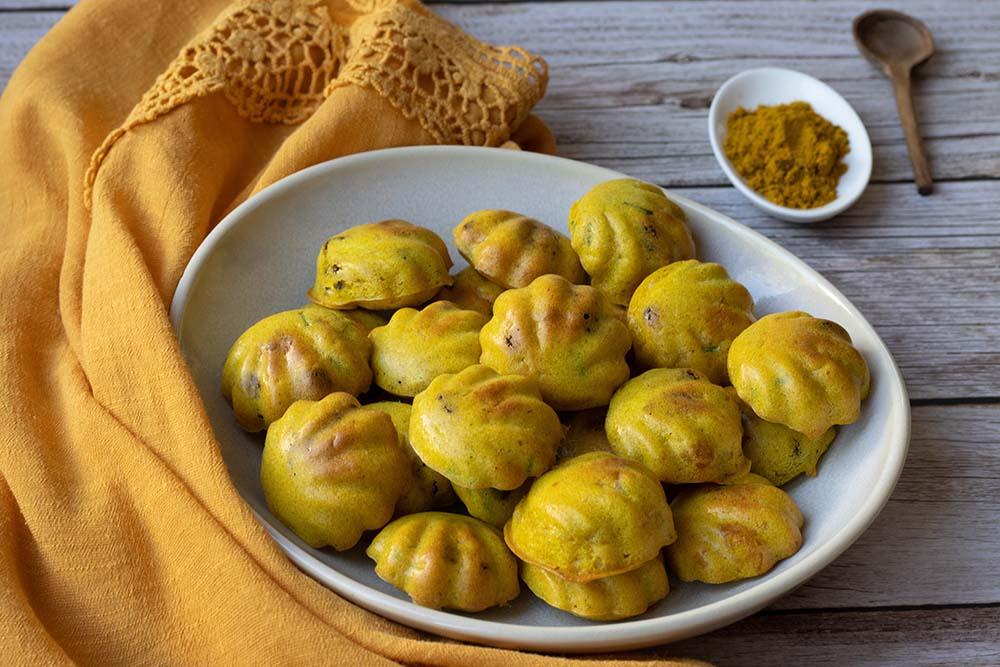 Bouchées poulet curry et raisins secs