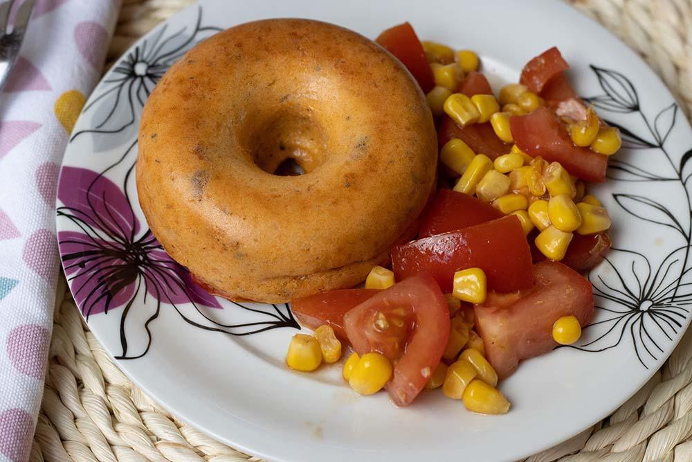 Cakes ultra moelleux poulet et tomates