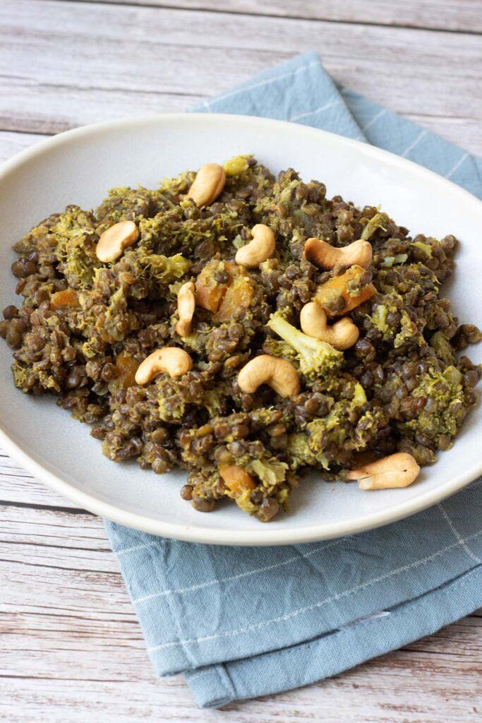 Curry de brocolis aux lentilles (au Cookeo ou sans) 1