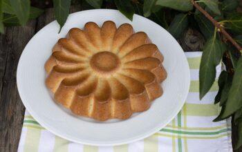 Gâteau sucré à la courgette moule marguerite Demarle Flexipan