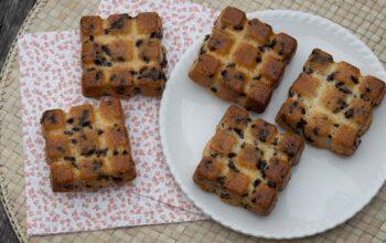 Petits gâteaux moelleux aux vermicelles petites tablettes Demarle Flexipan