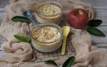 Petits pots de crème pomme et cannelle 1