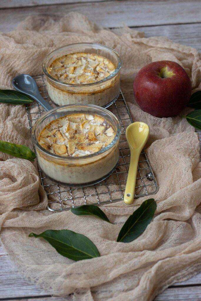 Petits pots de crème pomme et cannelle 4